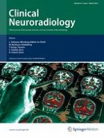 Clinical Neuroradiology 1/2012