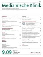 Medizinische Klinik - Intensivmedizin und Notfallmedizin 9/2009