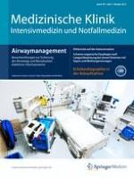 Medizinische Klinik - Intensivmedizin und Notfallmedizin 7/2012