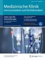 Medizinische Klinik - Intensivmedizin und Notfallmedizin 7/2017