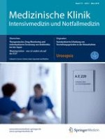 Medizinische Klinik - Intensivmedizin und Notfallmedizin 2/2018
