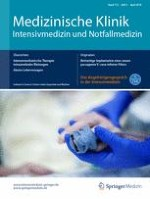 Medizinische Klinik - Intensivmedizin und Notfallmedizin 3/2018