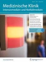 Medizinische Klinik - Intensivmedizin und Notfallmedizin 1/2019