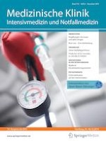 Medizinische Klinik - Intensivmedizin und Notfallmedizin 8/2019