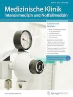 Medizinische Klinik - Intensivmedizin und Notfallmedizin 1/2020