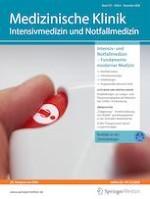 Medizinische Klinik - Intensivmedizin und Notfallmedizin 8/2020