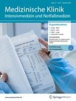 Medizinische Klinik - Intensivmedizin und Notfallmedizin 11/2000