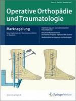 Operative Orthopädie und Traumatologie 5/2011