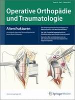 Operative Orthopädie und Traumatologie 1/2012