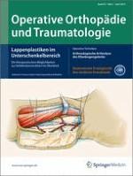 Operative Orthopädie und Traumatologie 2/2013