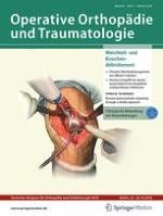 Operative Orthopädie und Traumatologie 5/2018