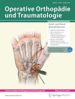 Operative Orthopädie und Traumatologie 5/2019