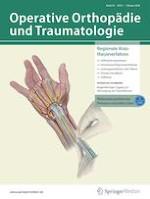 Operative Orthopädie und Traumatologie 1/2020