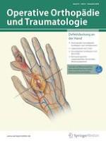 Operative Orthopädie und Traumatologie 6/2020