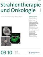 strahlentherapie und onkologie 3 2010. Black Bedroom Furniture Sets. Home Design Ideas
