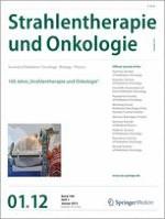 Strahlentherapie und Onkologie 1/2012