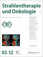 Strahlentherapie und Onkologie 3/2012