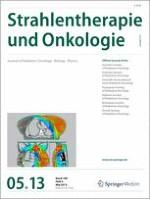 Strahlentherapie und Onkologie 5/2013