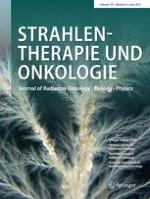 Strahlentherapie und Onkologie 6/2015