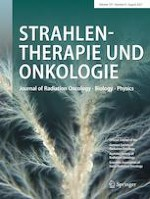 Strahlentherapie und Onkologie 8/2021
