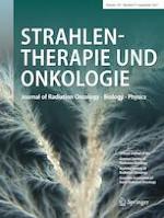 Strahlentherapie und Onkologie 9/2021