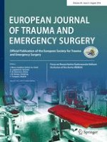 European Journal of Trauma and Emergency Surgery 4/2018