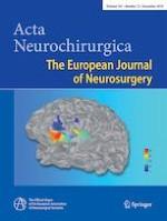Acta Neurochirurgica 12/2019