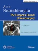 Acta Neurochirurgica 9/2019