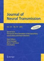 Journal of Neural Transmission 10/2016
