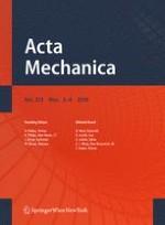 Acta Mechanica 3-4/2010