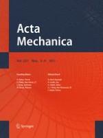 Acta Mechanica 3-4/2011