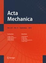 Acta Mechanica 9/2012