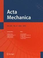 Acta Mechanica 6/2015