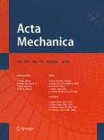 Acta Mechanica 10/2016