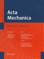 Acta Mechanica 1/2017
