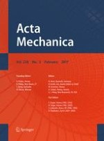 Acta Mechanica 2/2017