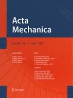 Acta Mechanica 4/2017