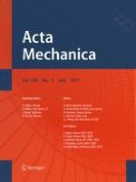 Acta Mechanica 7/2017