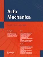Acta Mechanica 6/2020