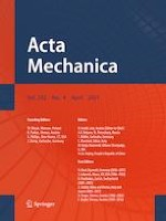 Acta Mechanica 4/2021