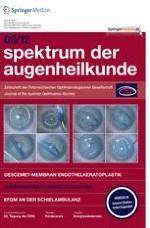 Spektrum der Augenheilkunde 3/2012
