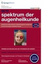 Spektrum der Augenheilkunde 5/2012