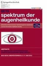 Spektrum der Augenheilkunde 2/2013