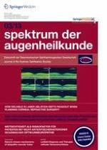 Spektrum der Augenheilkunde 3/2013