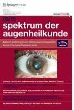 Spektrum der Augenheilkunde 3/2015