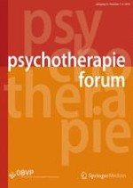 Psychotherapie Forum 4/2009