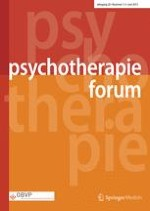 Psychotherapie Forum 1-2/2015