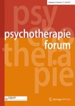 Psychotherapie Forum 1-2/2017