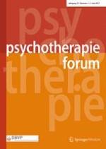 Psychotherapie Forum 1-2/2017