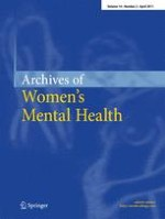 Archives of Women's Mental Health 2/2011
